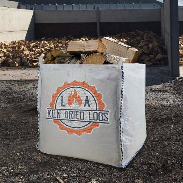 Kiln Dried Hardwood Bulkbag - L A Kiln Dried Logs, Barrow-in-Furness